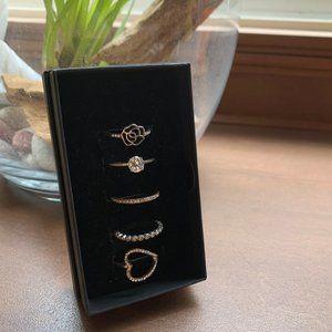 Torrid Ring box set